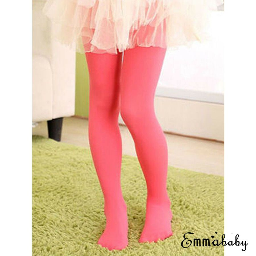 15c74f530b851 Girls Kids Tights Velvet Pantyhose Hosiery Ballet Dance Socks Candy Colors# Velvet#Pantyhose#Tights