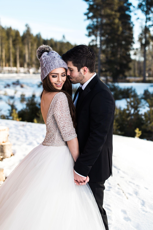 Winter wonderland wedding dress  Maggie Sottero Wedding Dresses  Everything Wedding  Pinterest