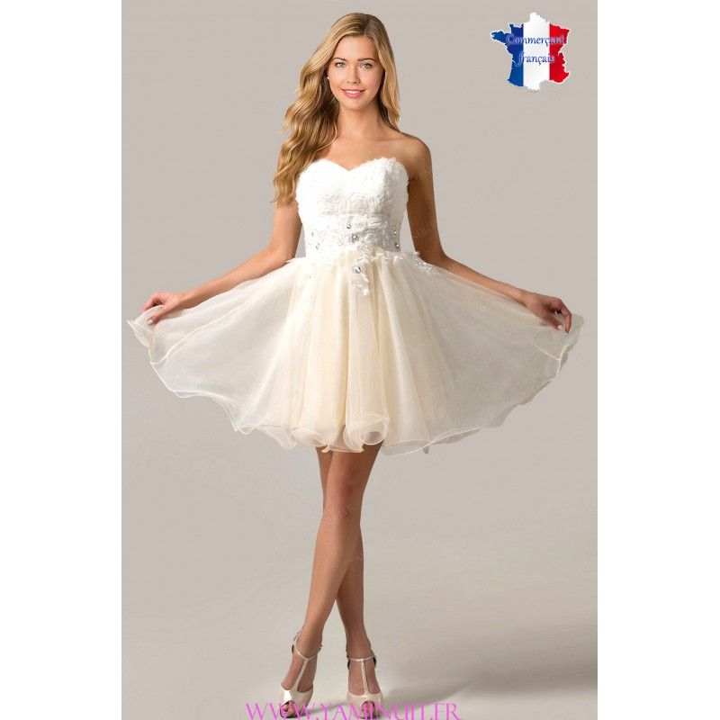Robe cocktail tutu rose