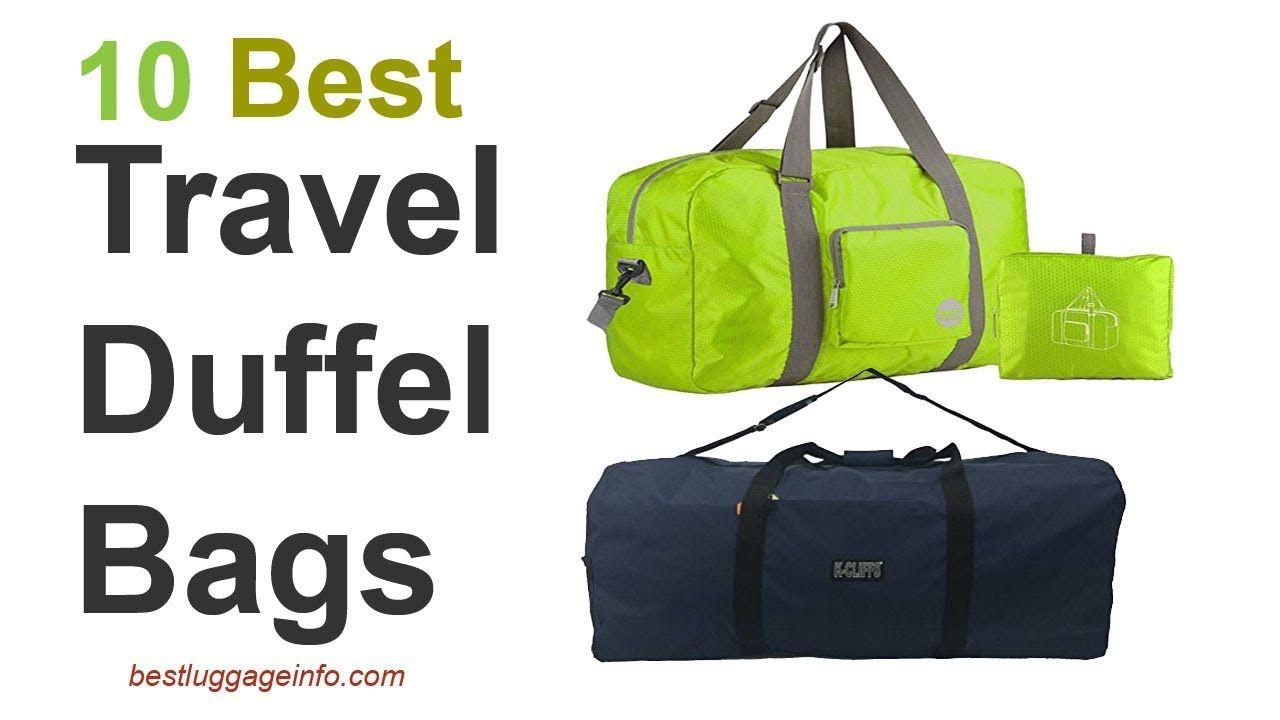 7b455bf1c Best Travel Duffel Bags | Ten Best Carry On Cute Cheap Travel Duffle Bags.