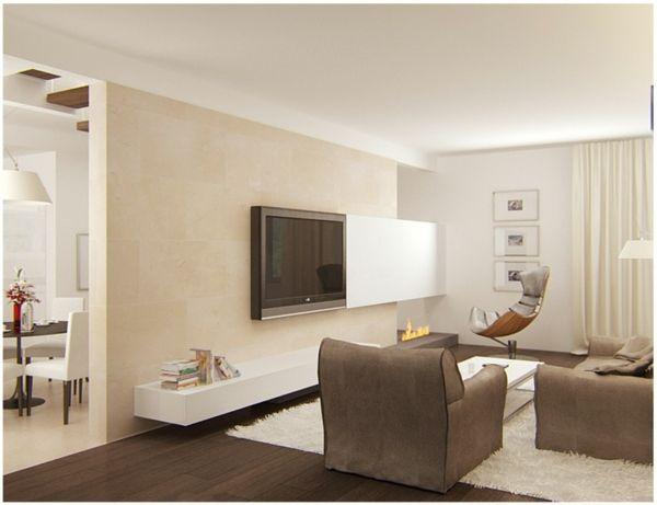 salon moderne design blanc crme taupe