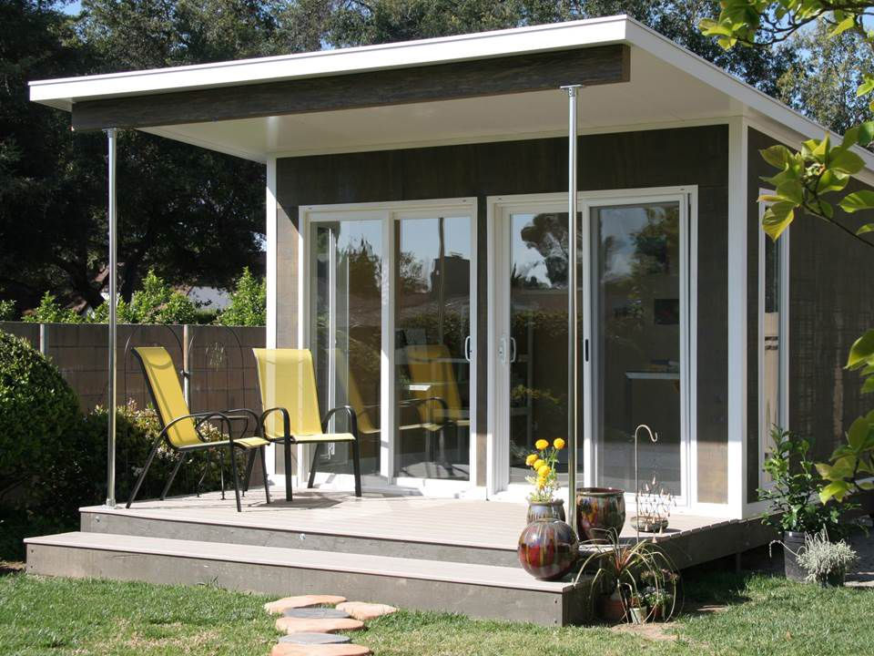 Great Backyard Cottages Offer Extra Living, Work Space,Something Small Is Afoot.  Backyard Cottages U2014 From Bungalows To Lilliputian Studio Cabins U2014 Are  Springing ...