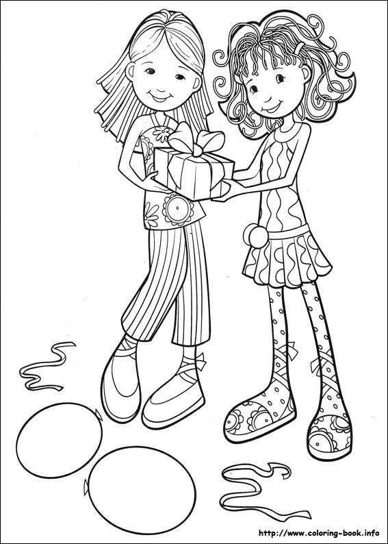 Groovy Girls coloring page   groovy girls   Pinterest   Adult ...