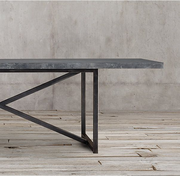 Restoration Hardware Marble Coffee Table: Torano Marble Rectangular Dining Table