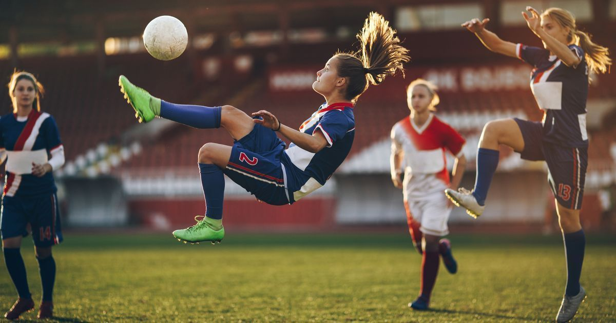 Girls who play certain sports have higher selfesteem, are