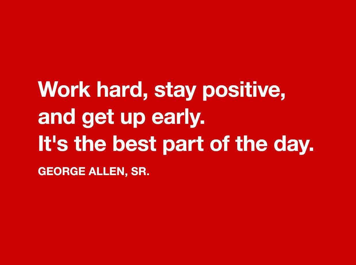George Allen quote