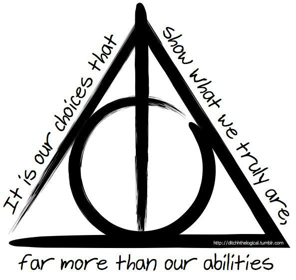 Deathly Hallows Symbol Deathly Hallows Symbol Deathly Hallows And