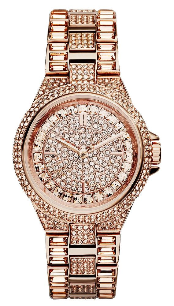 84e701b24f126 MICHAEL KORS Mini CAMILLE MK5948 Rose Gold Swarovski Crystals Glitz Women  Watch  MICHAELKORS  LuxuryDressStyles