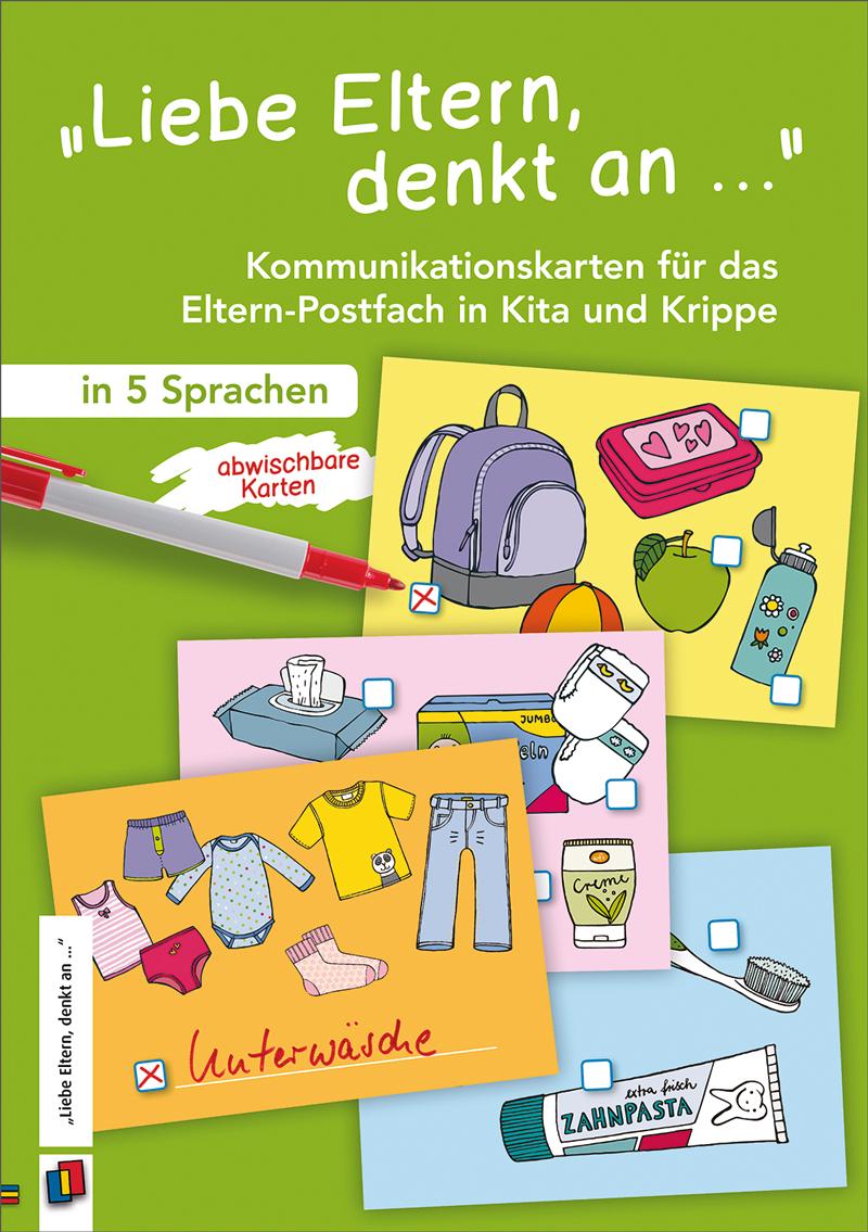 """Liebe Eltern, denkt an …"" | Kindergarten"