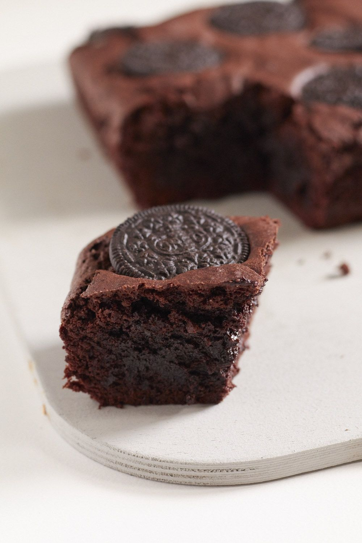 Saftig Leckerer Oreo Brownie Rezept Oreo Oreo Kekse