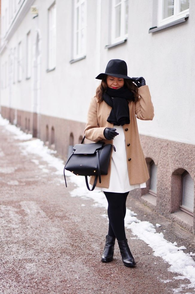 Fedora Hat & Minimal Dress