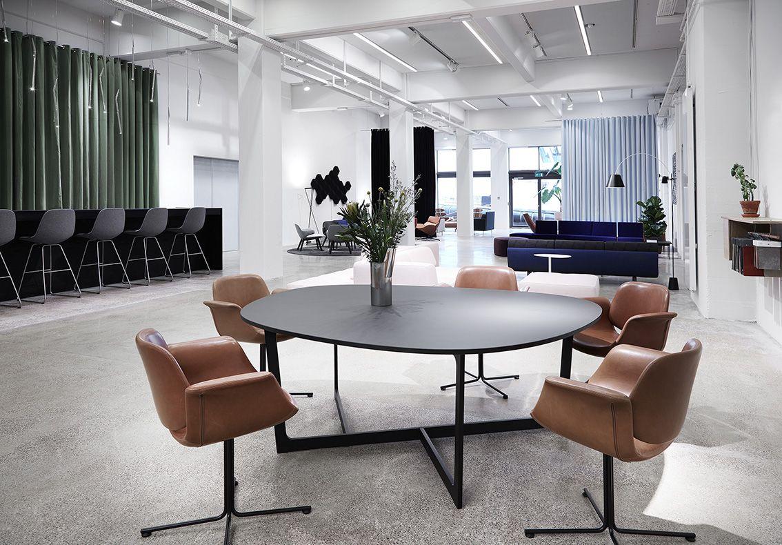 Erik Joergensen newly opened Contract showroom with