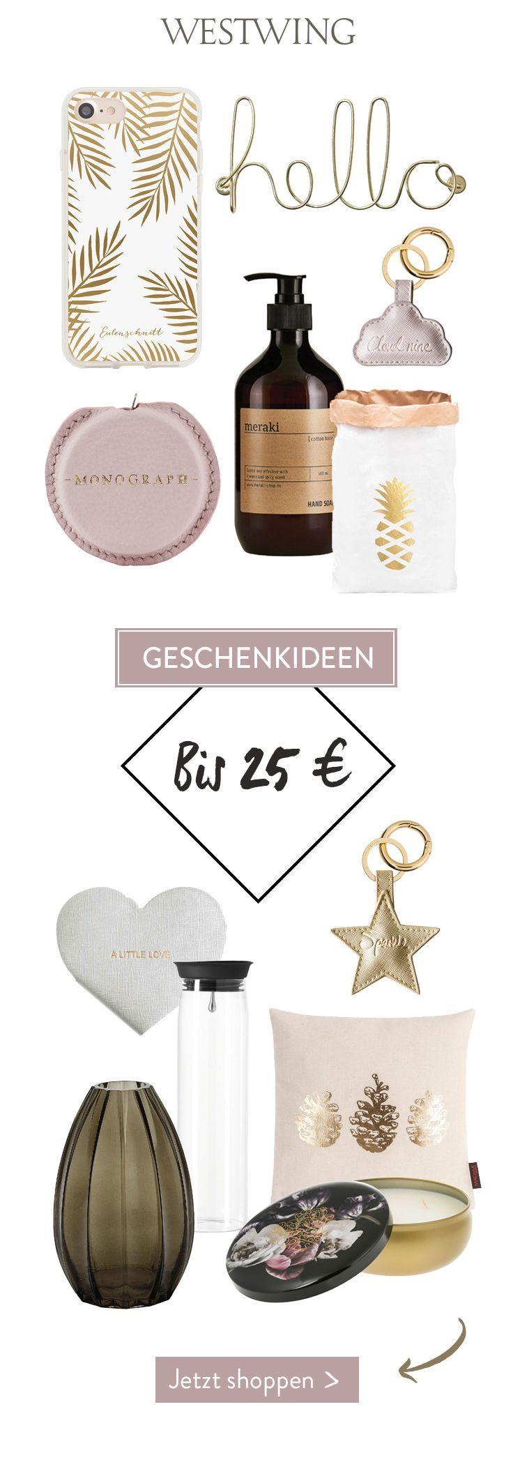 Geschenkideen bis 25 €: Du suchst nach einem schönen, originellen ...