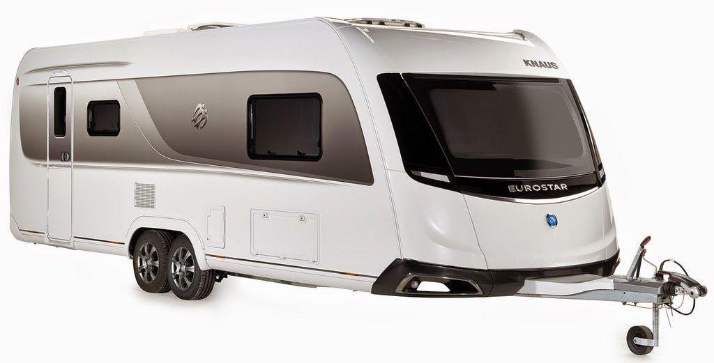 Knaus Luxus Caravan Eurostar mit Caravisio Elementen ...