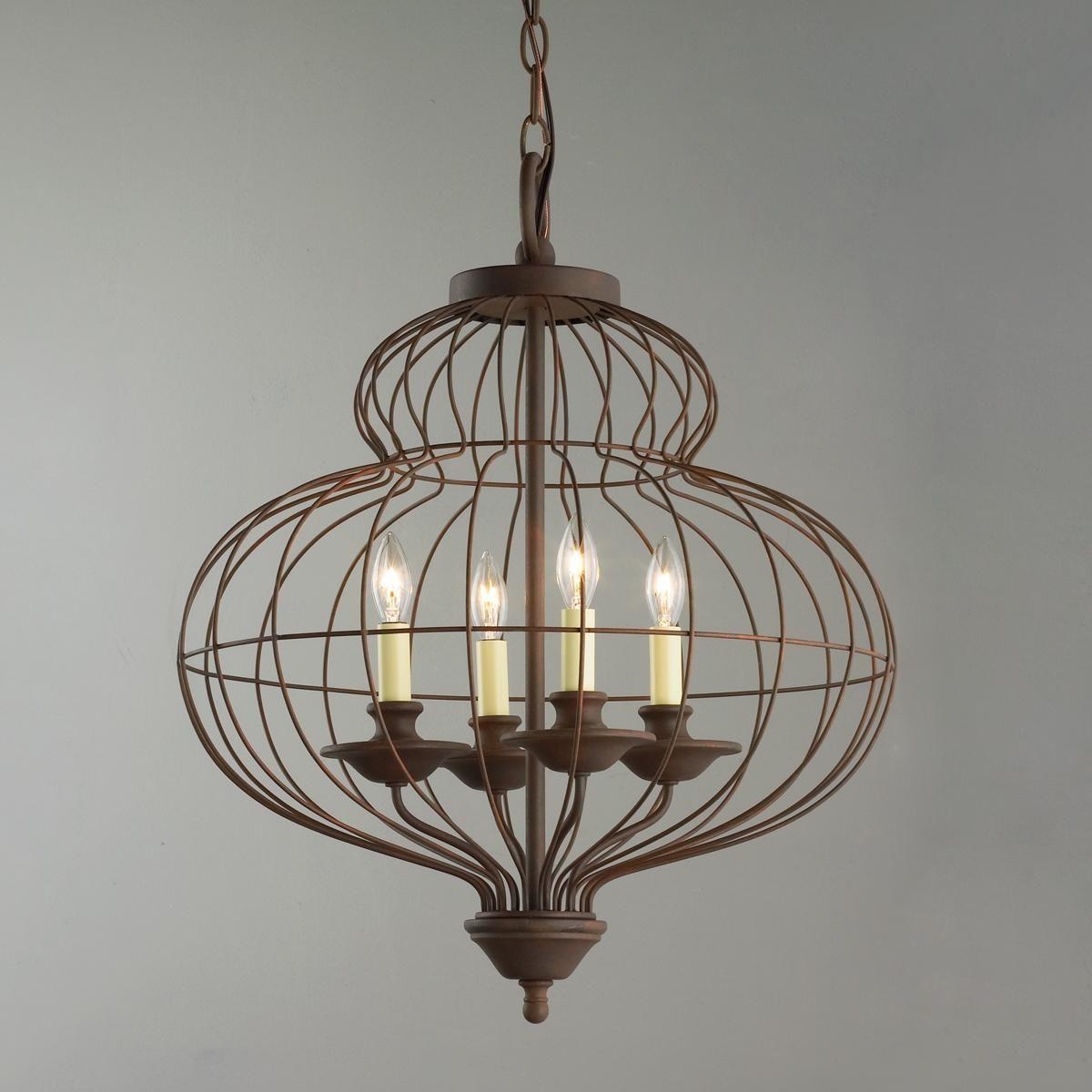 mini chandelier for bathroom. Wire Urn Mini Chandelier For Bathroom L