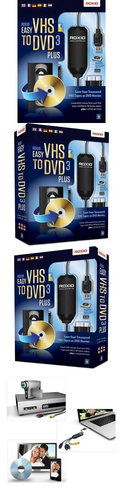 Image Video And Audio 41859 Easy Vhs To Dvd 3 Plus Windows Buy It Now Only 39 99 On Ebay Image Video Audio Windows Vhs To Dvd Vhs Dvd