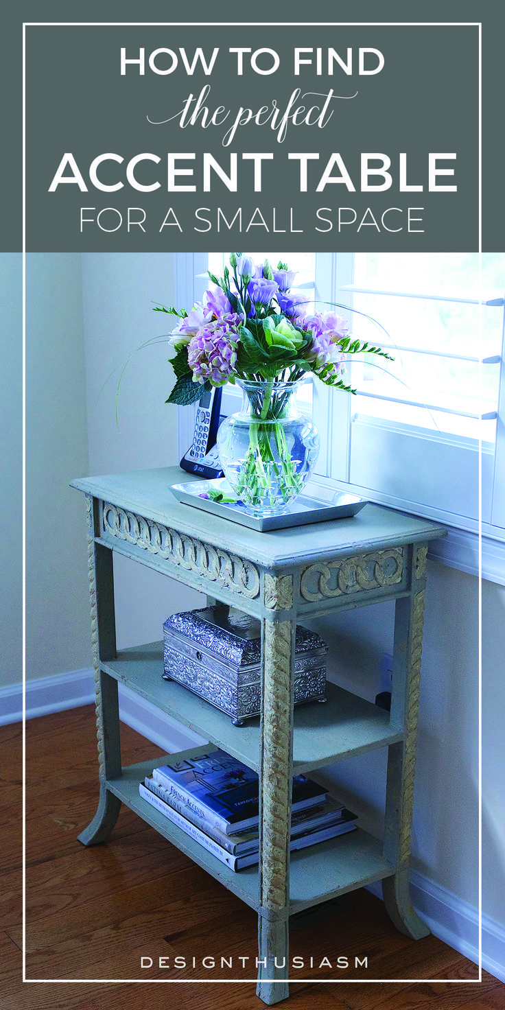 The Perfect Accent Table For A Small E Painted French Side Tables Living Room Choosing Narrow End Corner Vintage Home