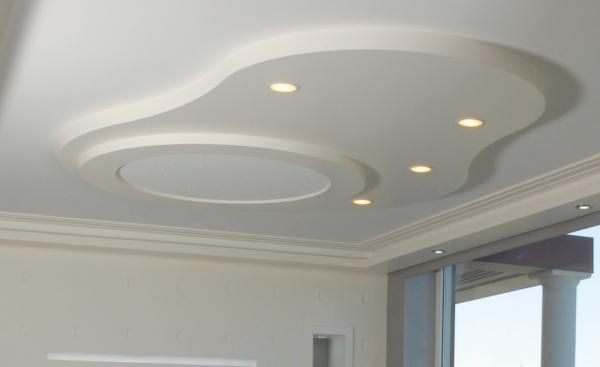 d coration plafond salon staff id es d co pour la On staff decor plafond moderne