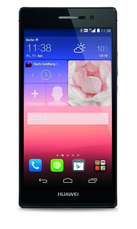 Huawei Ascend P7 Smartphone (12,7 cm (5 Zoll) LCD-Display, 2GB RAM, 13 Megapxiel Kamera, WiFi, FM-Radio, Android 4.4.2) schwarz: Huawei: Amazon.de: Elektronik