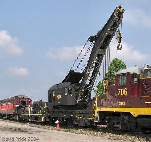 C U0026o Wreck Crane Diagrams U2013 Railfandepot Manual Guide