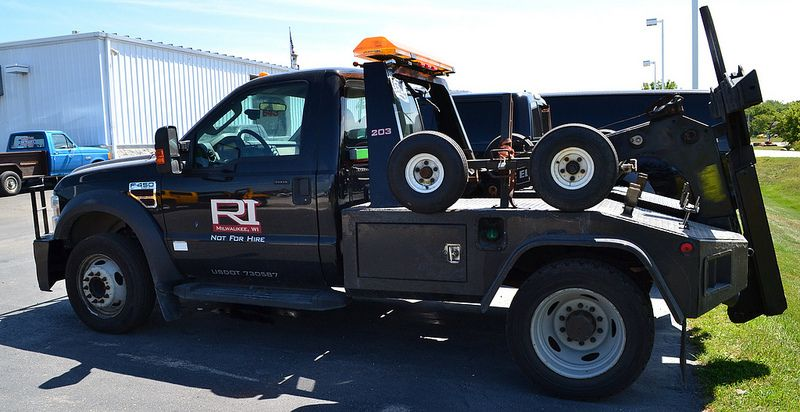 Wisconsin Milwaukee Wisconsin Ford F 450 Self Loader Repo