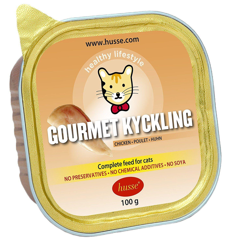 Husse Gourmet Kyckling Chicken Pate Complete Wet Pet Food