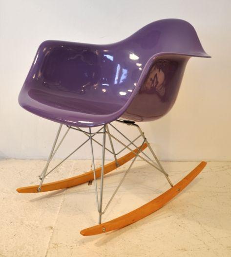 Vintage Eames, Herman Miller RAR Chair - Purple