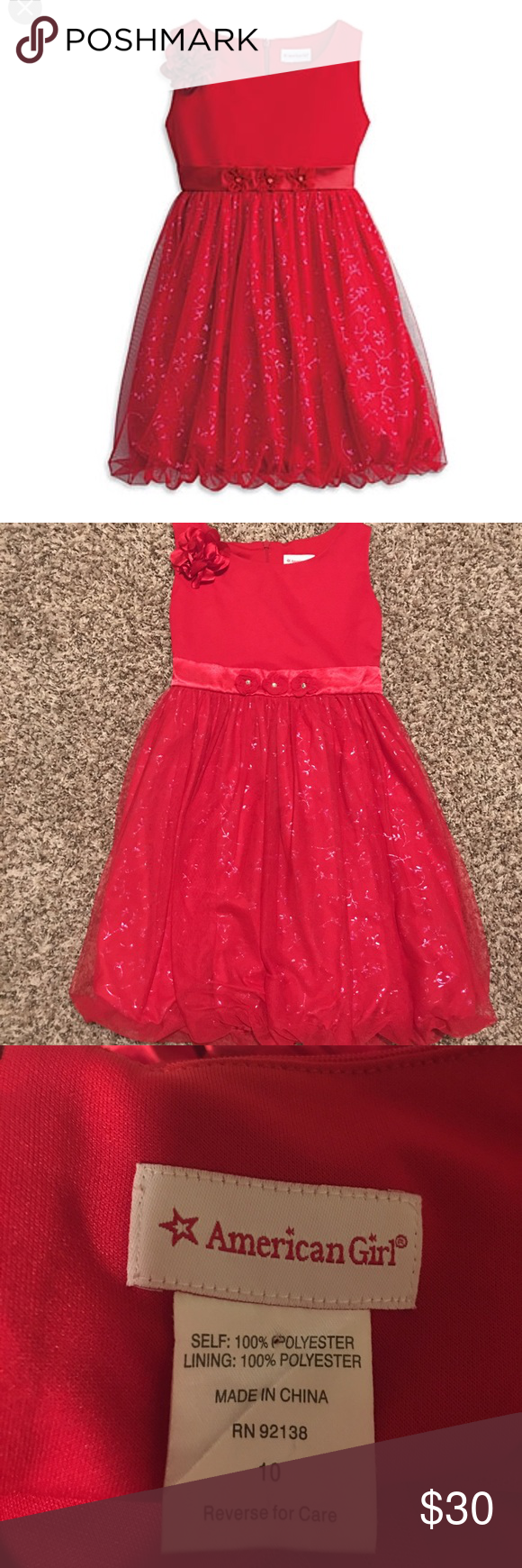American Girl Dress Party Sparkle Dress From American Girl In