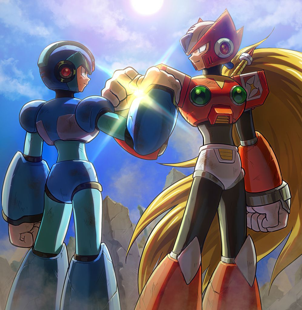 Pin by TiipZ on Games Mega man art, Mega man, Maverick
