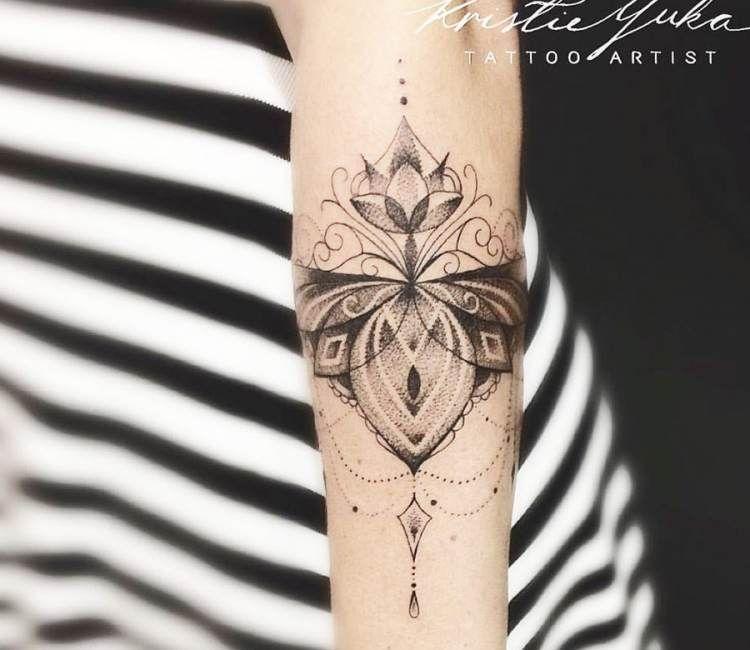 95919a74bba97 Jewelry tattoo by Kristie Yuka | Tattoo Art | Jewelry tattoo ...
