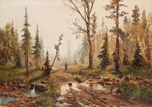 Simeon Fedorovich Fedorov (Russian, 1867-1910). Landscape   por sofi01