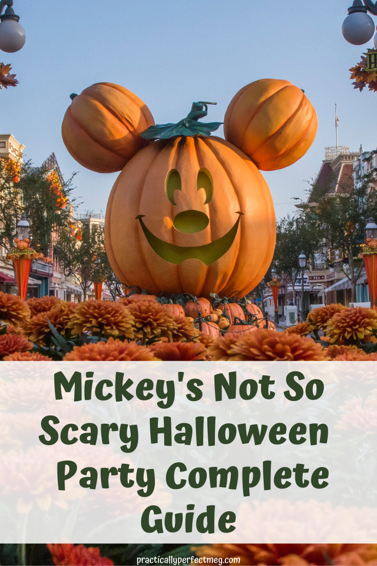 Moms Guide To Mickeys Not So Scary Halloween Party 2020 Pin on A Mom + Kid Group Board