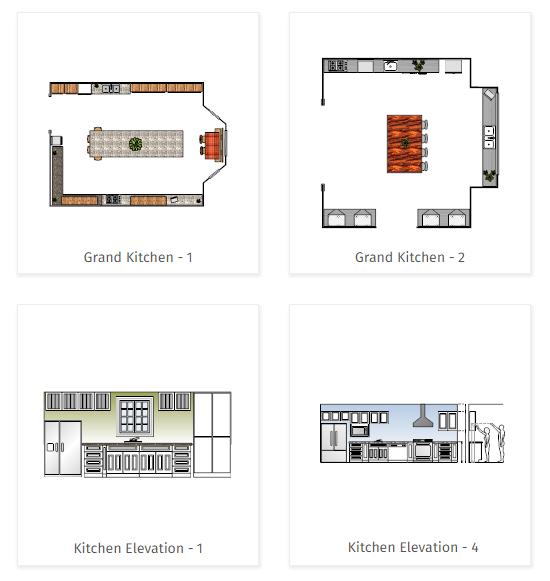 Kitchen Templates      Kitchen Planner