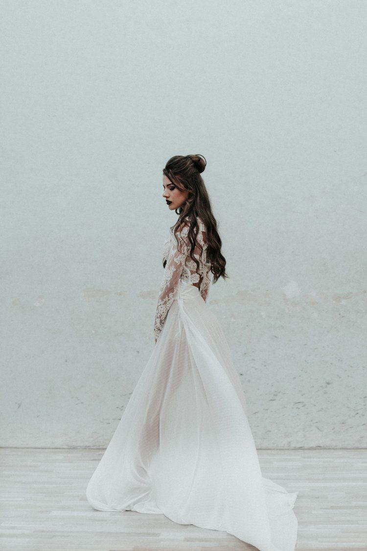 Modern Bride by The Alter Edit Wedding Photography Industrial ...