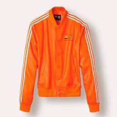 adidas Pharrell Satin Snap Track Jacket | 3 | Designer