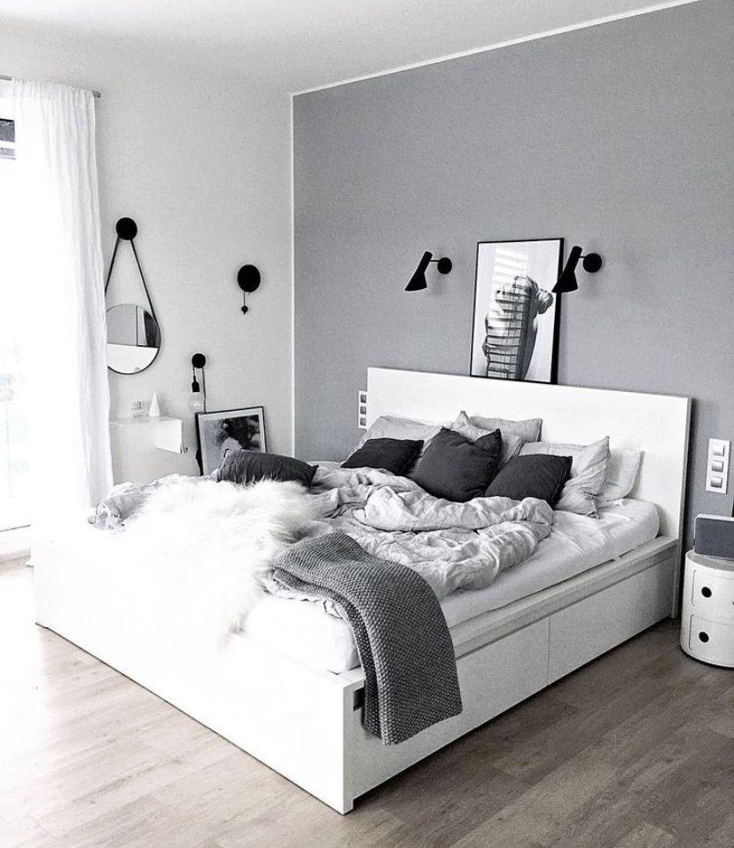 Pinterest Spiciwasabi Very Pretty Bedroom White Bedroom Decor Bedroom Interior Simple Bedroom