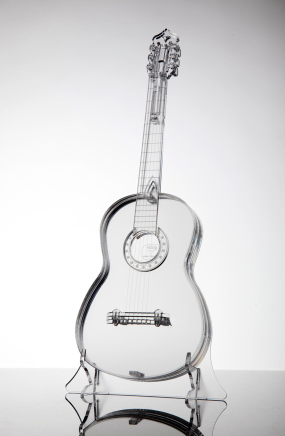 Acrylic glass model guitar uniqe gift for by OferEdinburgh on Etsy ...