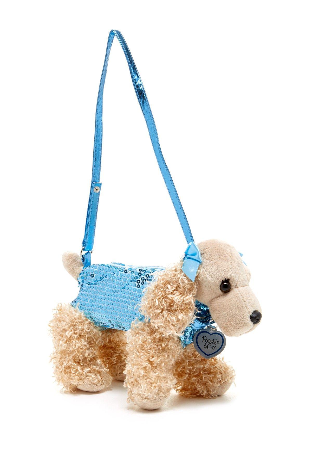 bf19cb6cdb0d Poochies | Sadie Plush Dog Purse | Shaped Bags | Dog purse, Dogs, Purses