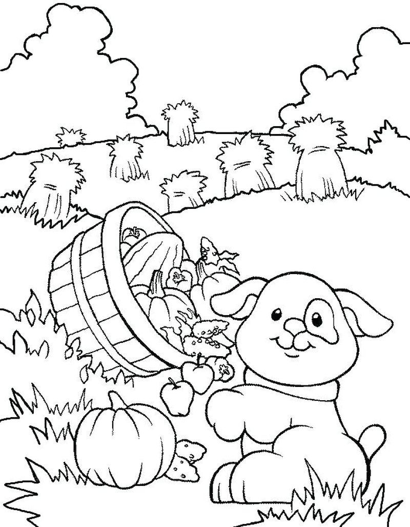Farm Dog Coloring Pages
