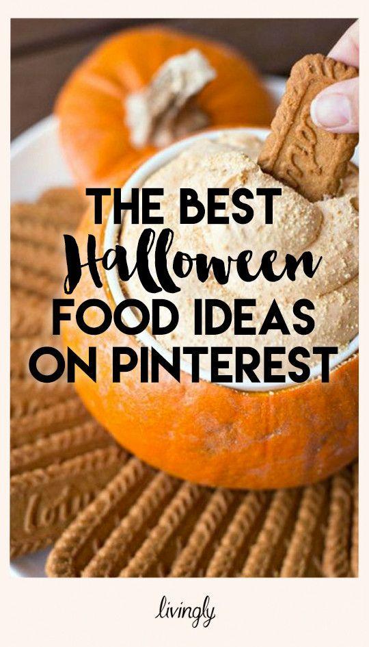 The Best Spooky Halloween Food on Pinterest Pinterest Halloween - pinterest halloween food ideas
