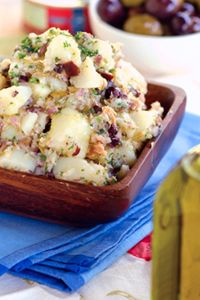 DeLallo.com Summer Recipes: Potato Salad with Tuna & Olives