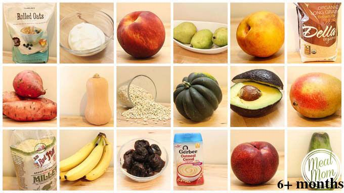 Baby Food Recipes: 4 to 12 Months