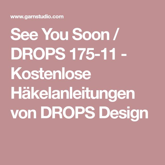 See You Soon / DROPS 175-11 - Kostenlose Häkelanleitungen von DROPS ...
