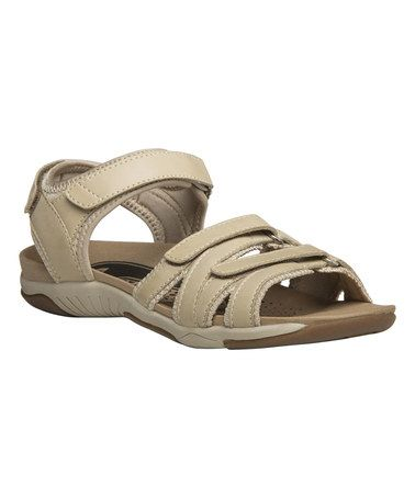 Another great find on #zulily! Sand Carlee XT Leather Sandal #zulilyfinds