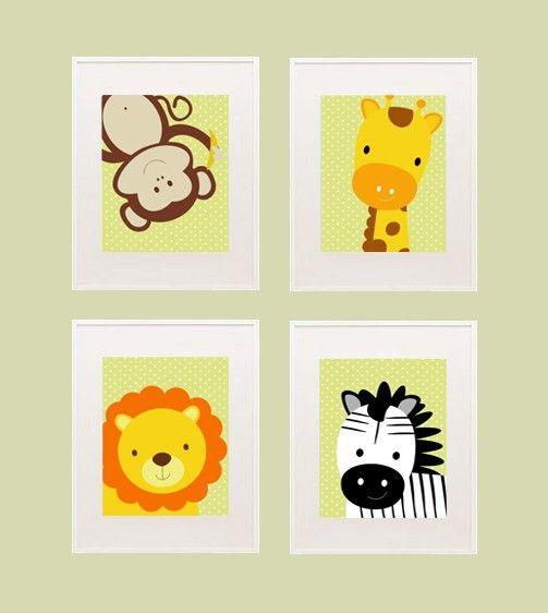 Safari Printable nursery wall decor | Nursery wall decor, Wall decor ...