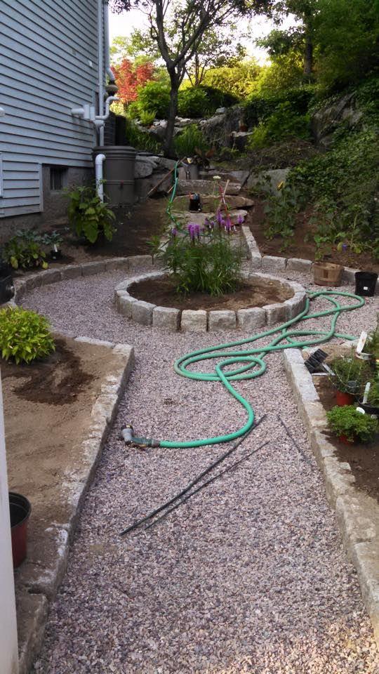 Oakwood Landscape Construction Vegetable Garden In Progress