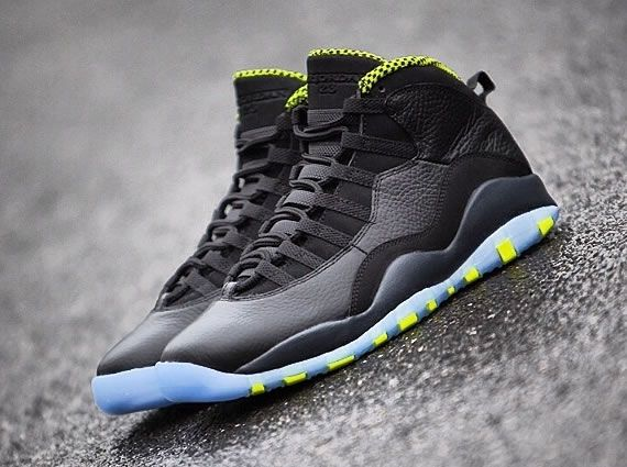 e2796d45b9bf MARCH 22ND PRICE   170.00 Air Jordan 10 Retro Black Cool Grey-Anthracite-Venom  Green. Share more Jordan release 2014 joy with my blog www.23isback.me .