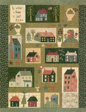 school house quilt block | DIY | Pinterest | House quilts, House ... : house quilt patterns - Adamdwight.com