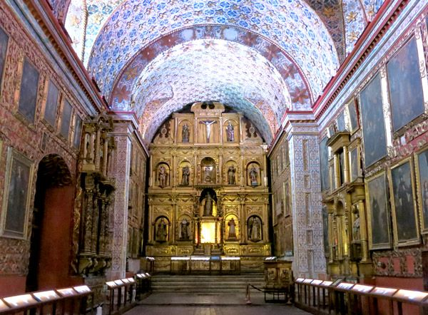 Museum of Santa Clara Church in Bogotá