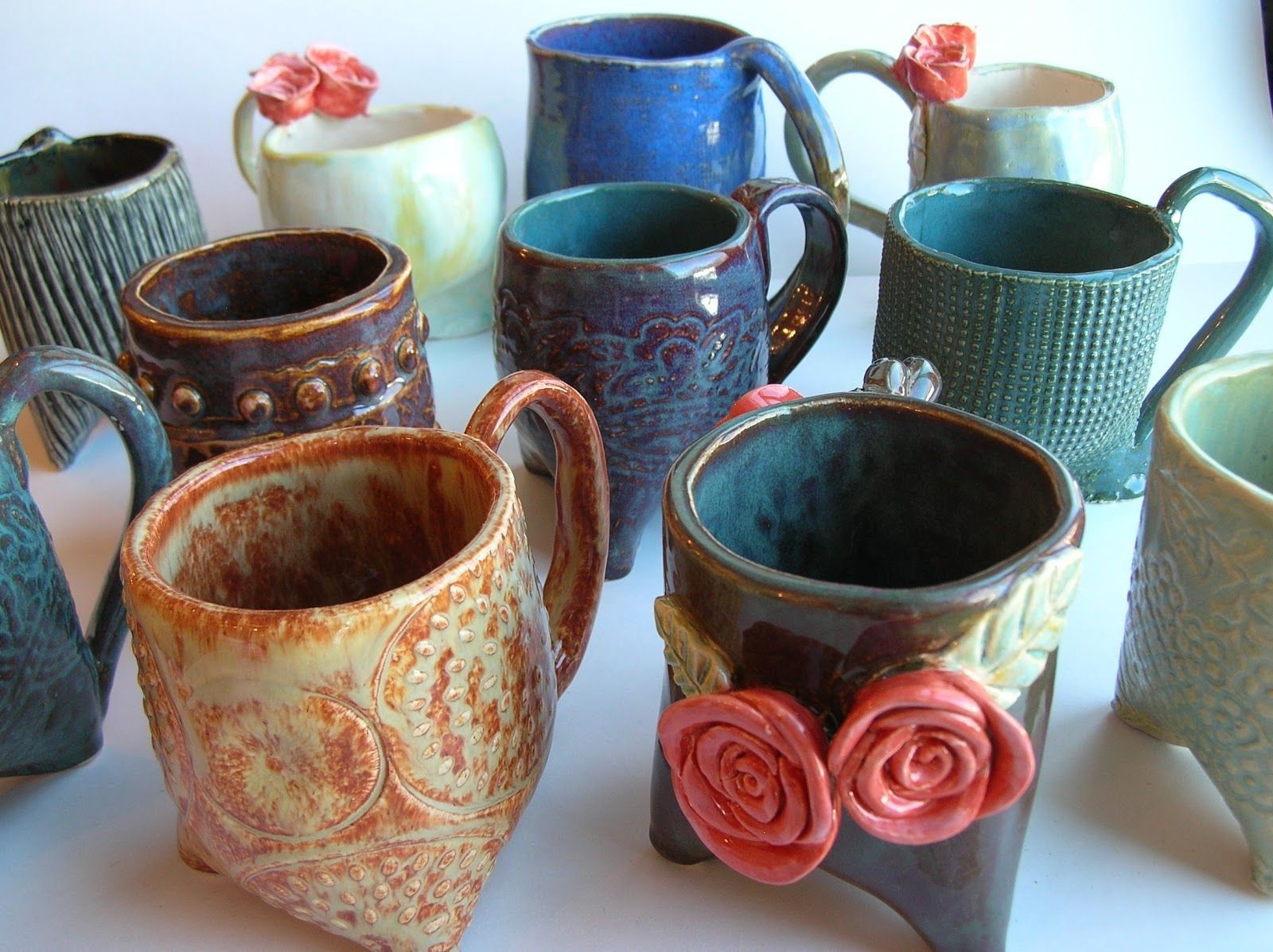 The skillful bee favorite art projects in the classroom for Clay mug ideas